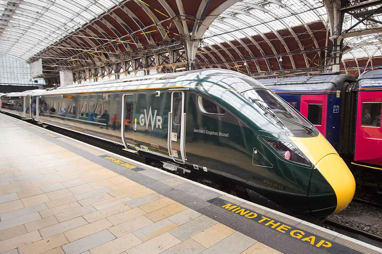 """画像: Rolling stock """"Class 800"""" for IEP which began operating in 2017."""