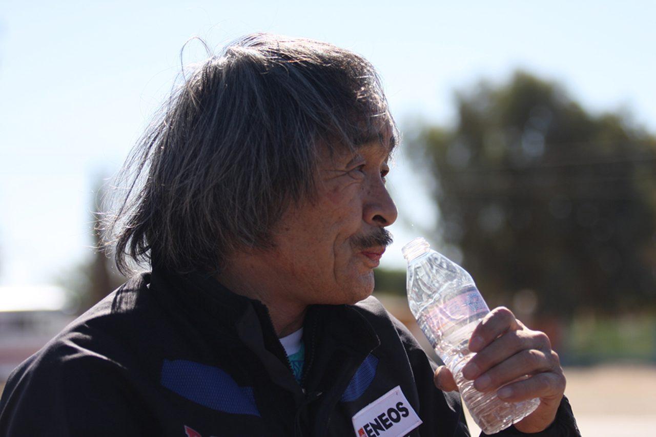 画像: 風間深志さん65歳。メキシコ、バハカリフォルニアにて。