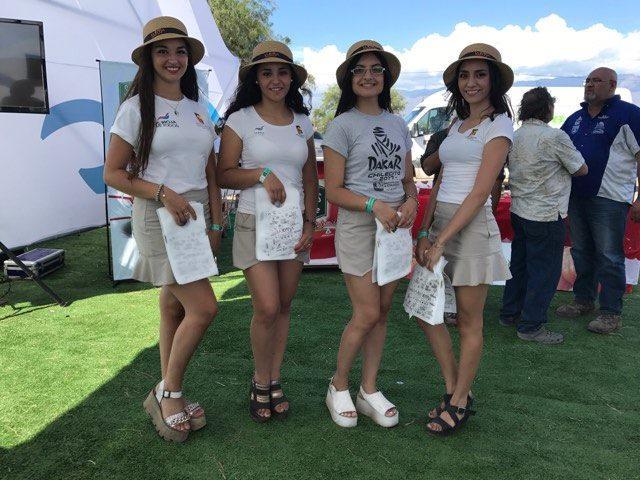 画像: 会場には華やかな南米美女もいっぱい!