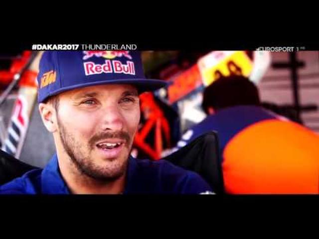画像: Dakar 2017 stage12 highlights youtu.be