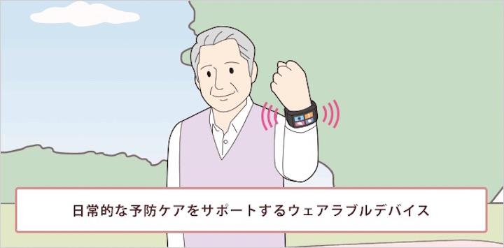 画像13: IoT ヘルスケア(医療)事例 ウェアラブル端末で健康増進