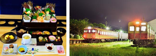 画像: 伊勢海老特急                   夜行列車