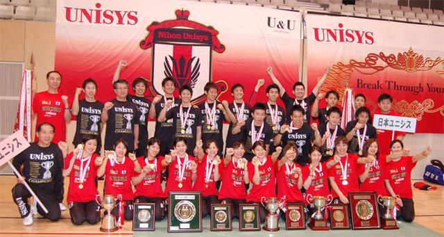 画像2: 日本ユニシス実業団バドミントン部「日本リーグ2013」で史上2度目の男女同時全勝優勝(2014年01/15号)