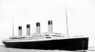 画像: RMS Titanic departing Southampton on April 10, 1912. (Photo: Creative Commons)©2015 Asterisk Research, Inc.