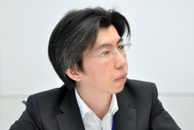 画像: デジタルサイネージ推進本部 高橋晃治氏