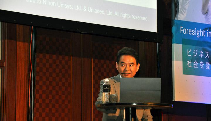 画像: 日本ユニシス株式会社 サービス企画部 共通SaaS企画室 仮想化グループ GL(グループリーダー) 長澤 良樹