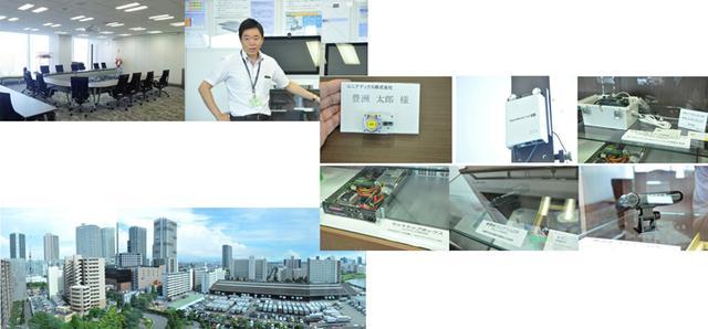 画像: ユニアデックスのIoTエコシステムラボ
