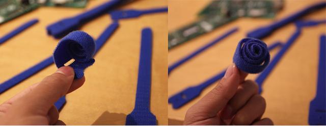 画像: クルリと巻いたら、青いバラ