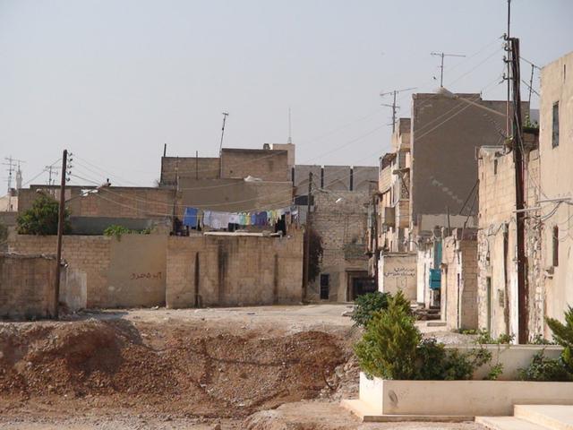 画像: 2007年のシリア西部の町