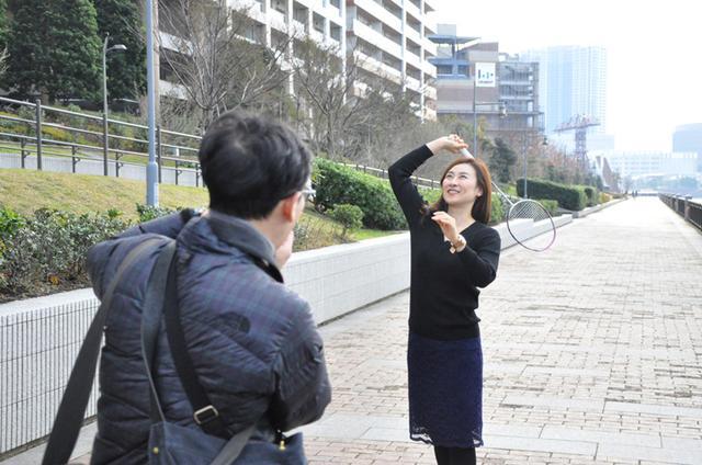 画像2: 日本ユニシス実業団バドミントン部女子コーチ  平山優さんのインタビューを終えて