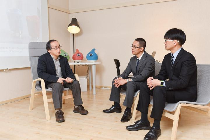 画像4: 〈弱いロボット〉を訪ねて-豊橋技術科学大学 岡田美智男教授へのインタビュー模様