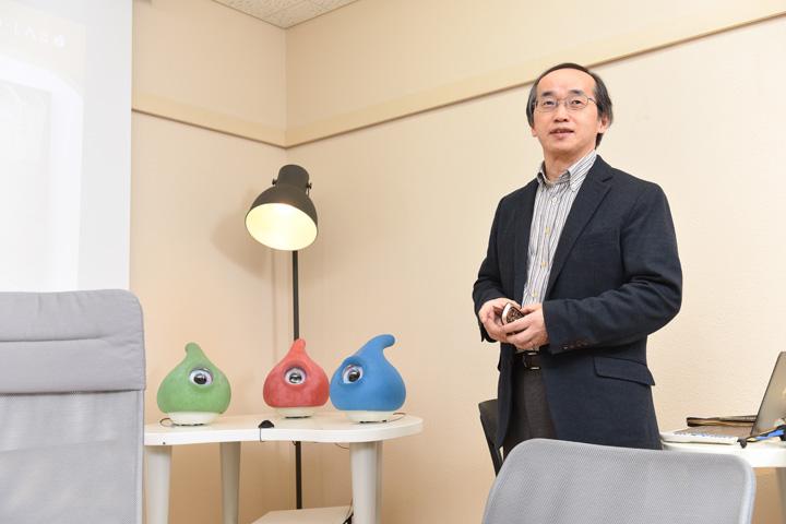 画像: 岡田美智男先生
