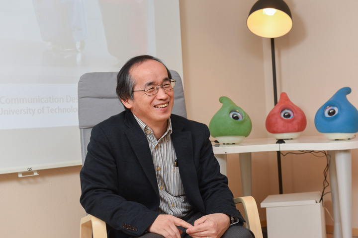画像: 豊橋技術科学大学 岡田 美智男教授