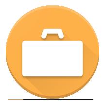 画像: ビジネスバッグをイメージしたアイコン