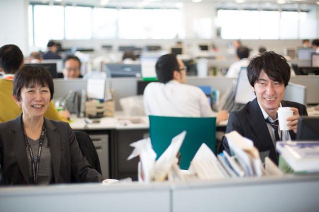 画像: 上の写真の彼の上司(左)と元上司(今年度は本社勤務)。