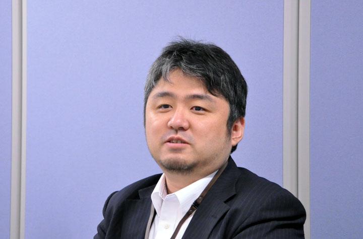 画像: IoTビジネス開発統括部 吉本昌平。IoT分野のビジネス開発に取り組んでいる。「機械学習/IoTを用いた匠の技の継承と普及」を推進中。