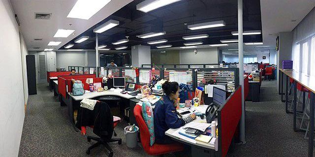画像: ネットマークス (タイ)のオフィスの様子