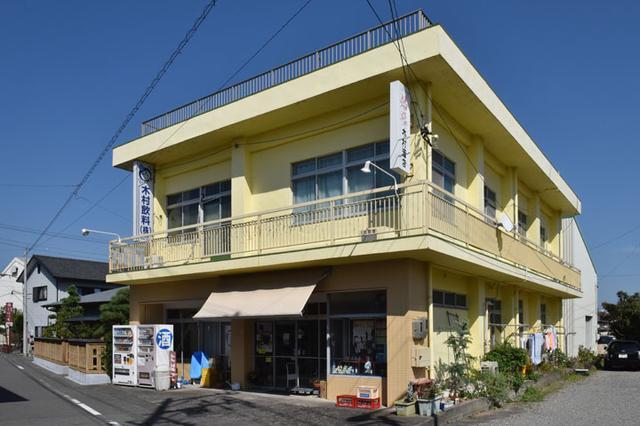 画像: 木村飲料の本社。昭和にタイムスリップしたかのような佇まい。