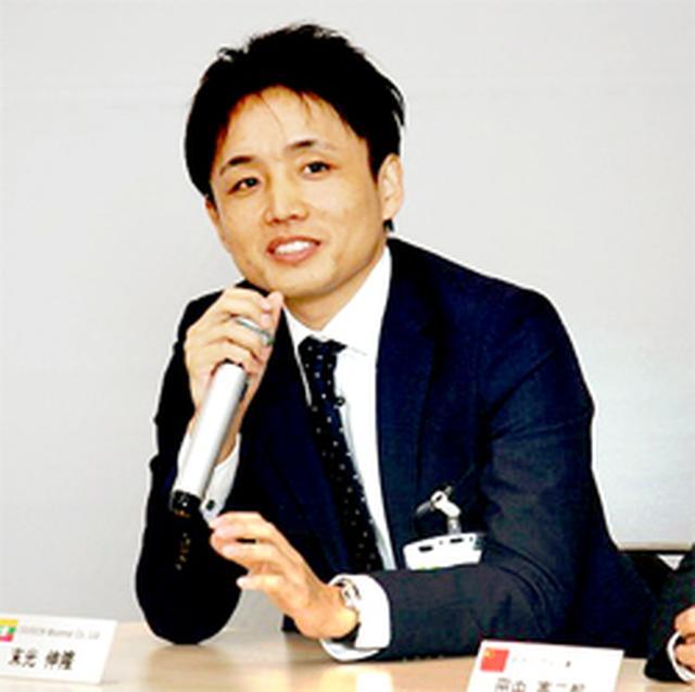 画像: EXVISION Myanmar マネージングディレクター 末光 伸隆 氏