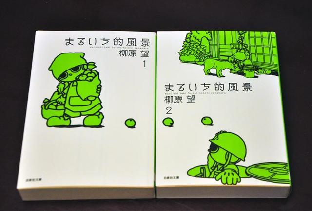 画像: 『まるいち的風景』全2巻(白泉社文庫)。ハイテクメーカーKAMATAが開発した家庭用ロボット「まるいち」は、人の動きをそっくりまねする「行動トレース型」のロボット。KAMATAのまるいち製作室にアルバイトとして入った有里幸太と、開発者の美月なな子を中心に、まるいちを巡ってさまざまな事件が起こる。「まるいち」で変わる人の日常と心情を丁寧に描くハートフルなコミック。