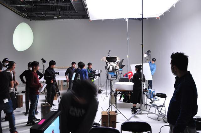 画像: スタジオ全体はこんな感じ。