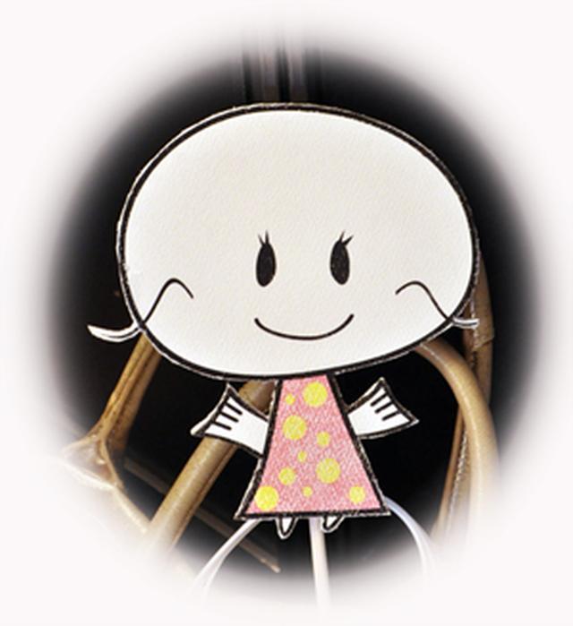 画像: NexTalkの編集スタッフ「ミキティー」のキャラクター