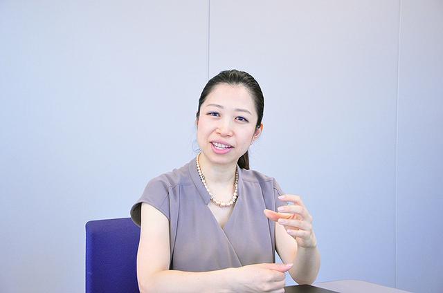 画像: 同じく企画推進者のビジネスソリューション企画部サービスプラットフォーム企画室 西川