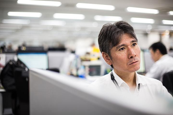 画像: 主にトヨタグループの案件を担当するエンジニア。
