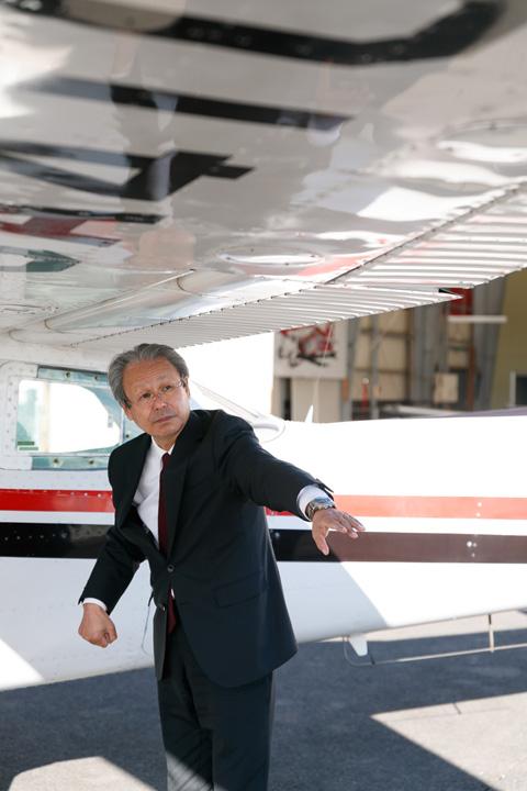 画像2: 操縦とは、飛行機と一体になること