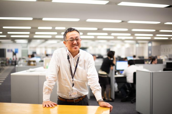 画像: 「サラメシ」は元からのファン。阿部さんと初めて対面した執行役員の齊藤