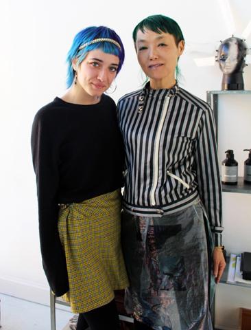 画像: SAYURIさん(右)とスタッフのHannah(ハンナ)さん