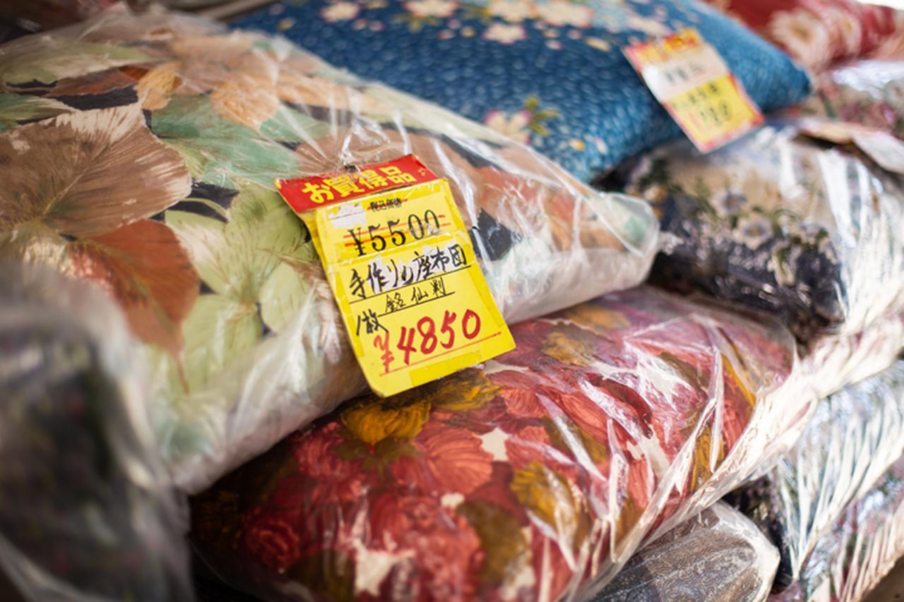 画像: 「本張り」の綿の入れ方で作った座布団は、表面が盛り上がって座り心地は最高