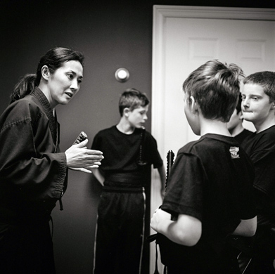 画像: 子どもクラスでの指導