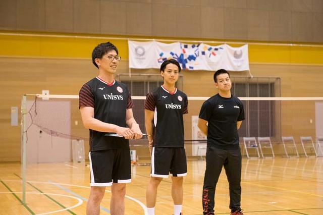 画像: 左から坂本総監督、上田コーチ、川鍋トレーナー