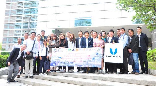 画像2: 【レポート】タイの国家レベルの研究に従事する8大学の方々が、ユニアデックスを訪問!産学連携を目指して(2019年11月28日)