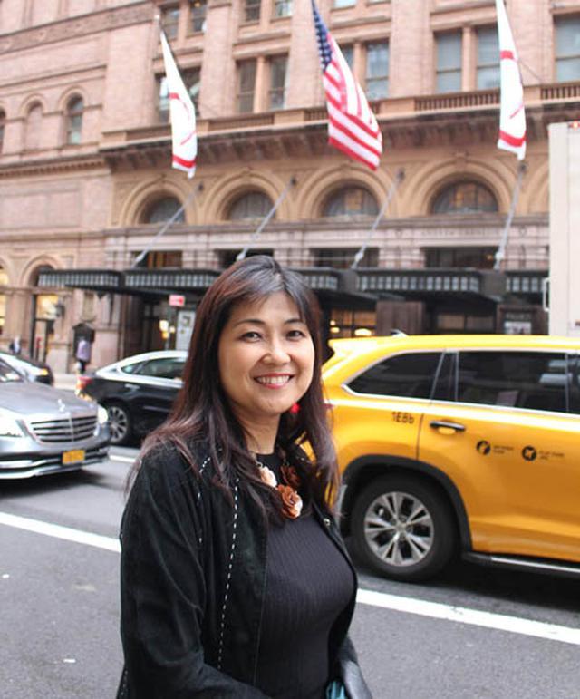 画像: ニューヨークでも「私にしかできない何かを生み出したい」という田村さん