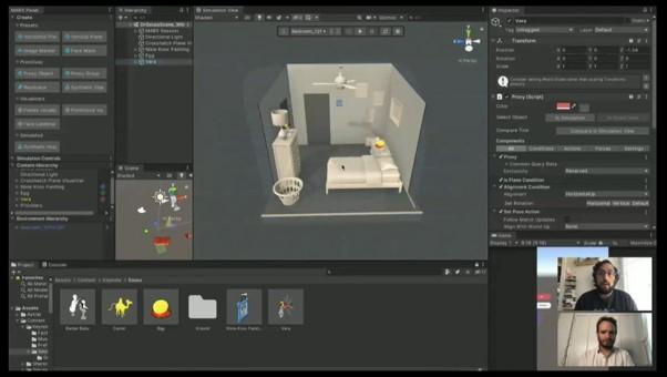 画像: Unity社が発売したMixed and Augmented Reality Studio (MARS) 。コンテンツ作成が容易に