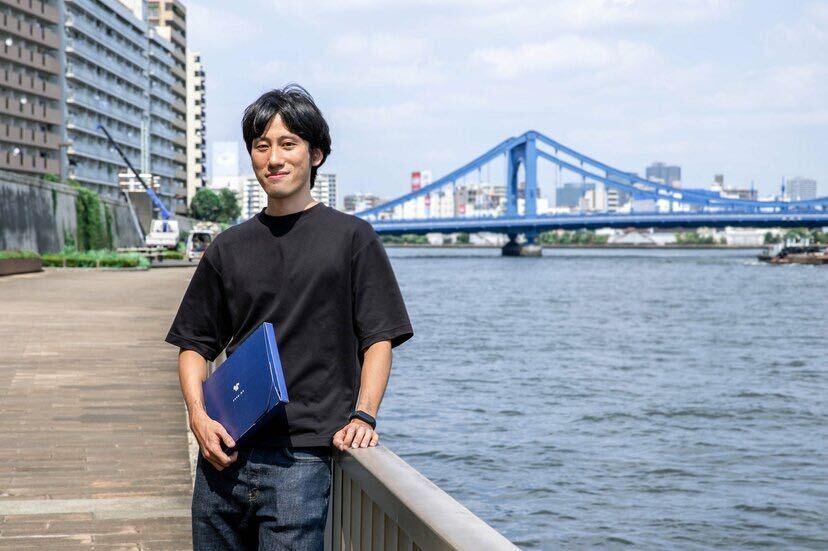 画像: 株式会社スナックミー 服部 慎太郎社長。