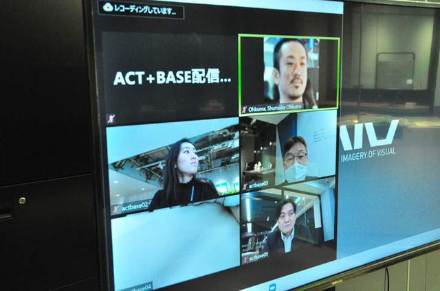 画像: ACT+BASEがYouTuberになる という感じですね。他の共創施設との連携なども?