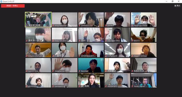 画像: 参加した社員からは、「もっとDXメンバーの話を聞きたい」「何でもやる部署?ますます謎が深まった!?(笑)」「会社の顔になる部署だと思うので、自分も関わりたい」など、短時間でしたが活発な情報交換ができました