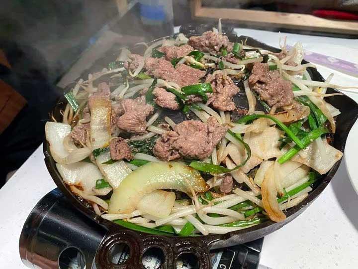 画像: 北海道と同じ味が楽しめるジンギスカン