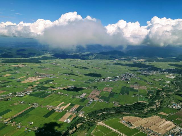 画像: 東川町は内陸性気候なので、雨が少なく、日較差・年較差が大きい地域です