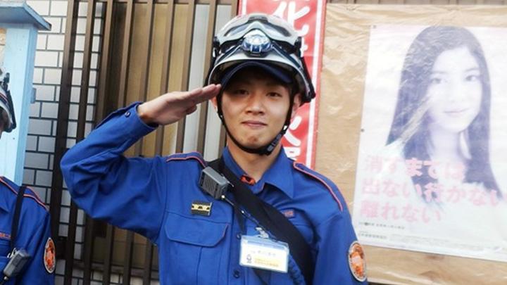 画像: 消防職団員時代の株式会社タヌキテック 代表取締役 市川 浩也さん