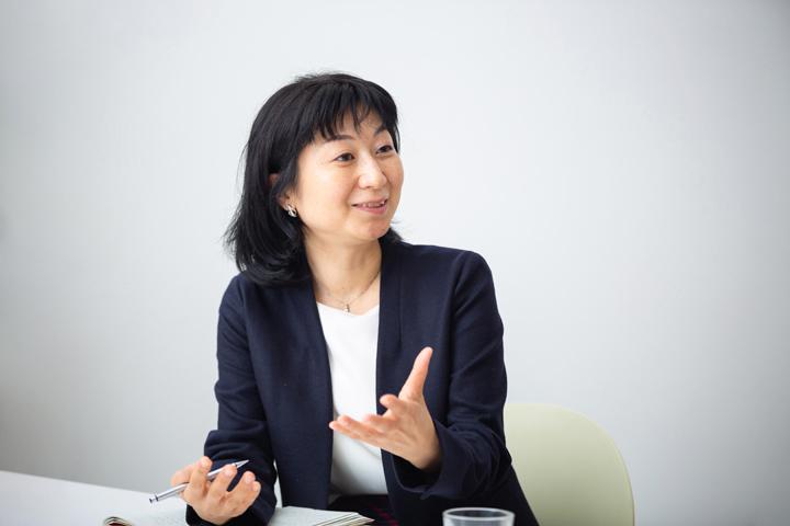 画像: 未来サービス研究所 副所長 八巻睦子