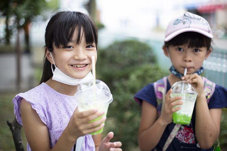画像: 夏休み中、平日も参加している仲良し小学生