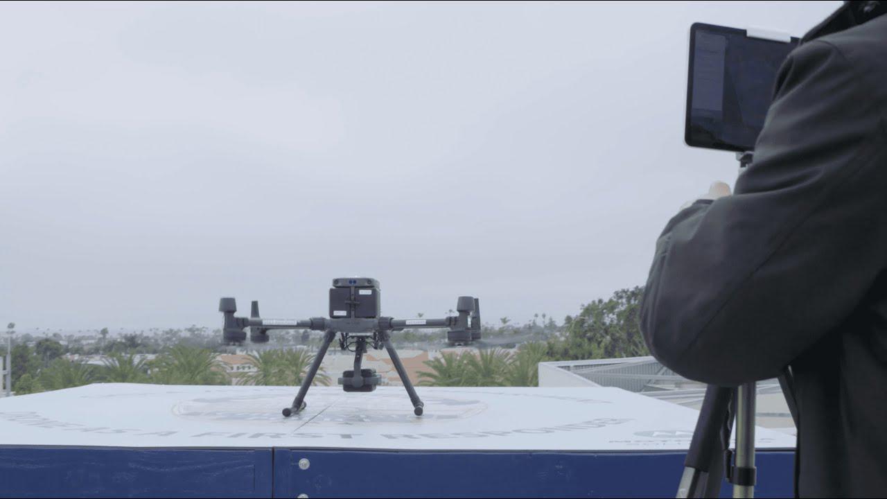 画像: Chula Vista (CA) Police: De-Escalation With A Drone As First Responder www.youtube.com