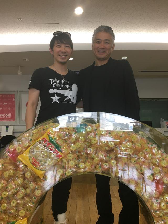 画像: パインアメと大山さん&西田さん