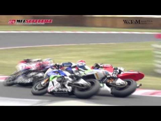 画像: 2016 SUPERBIKE ROUND 1 : Tsukuba J-GP2 Race2 Digest www.youtube.com