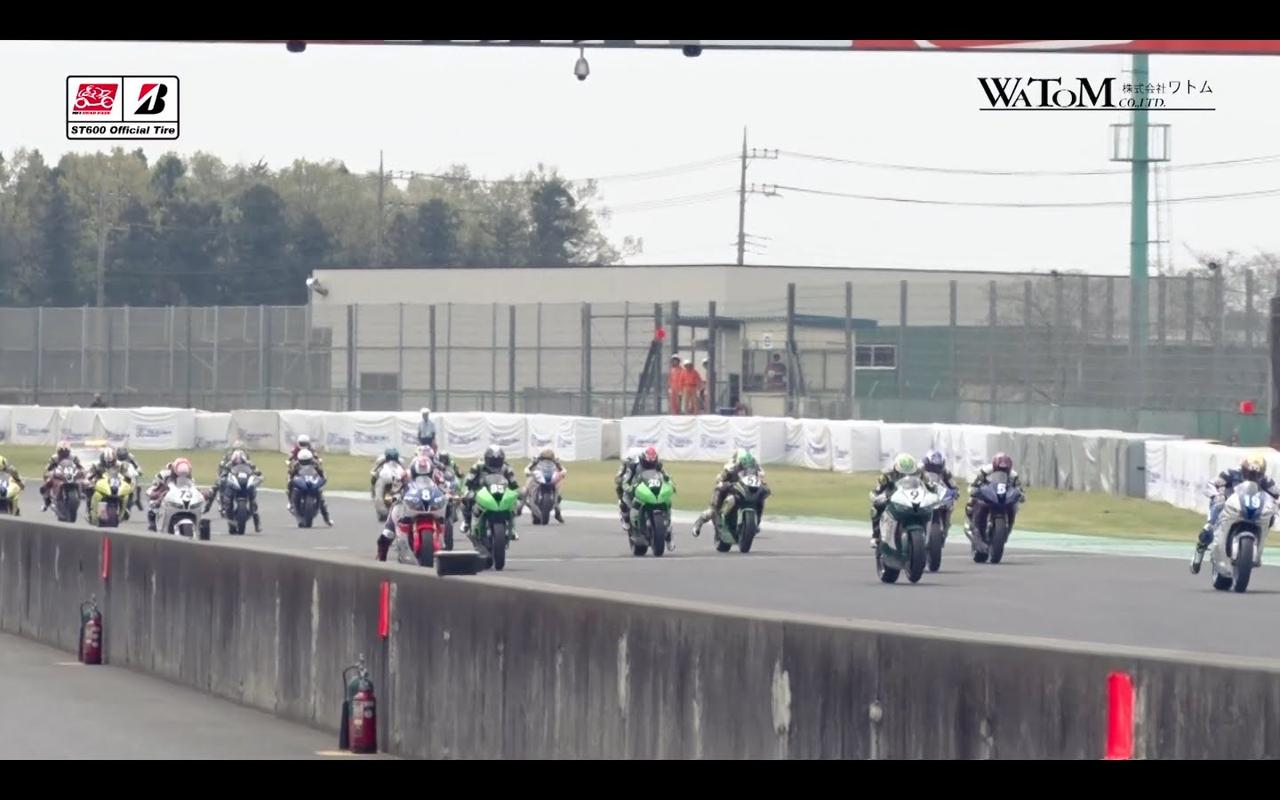画像: 2016 SUPERBIKE ROUND 1 : Tsukuba ST600 Race Digest www.youtube.com