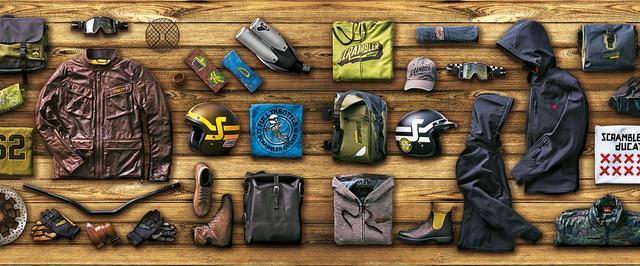 画像: they all are so well made that you can wear, use them even without being on a motorcycle. www.ducatiscrambler-harajuku.com